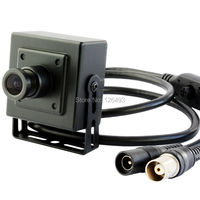 China Indoor mini cctv wired high definition 1080P full hd Sony322+2441H 3.6mm lens DC12V oem serveillance AHD camera