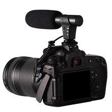 كاميرا ستيريو ميكروفون DSLR كاميرا ميكروفون لنيكون لكانون لسوني لسامسونج DSLR كاميرا ل شاومي آيفون X