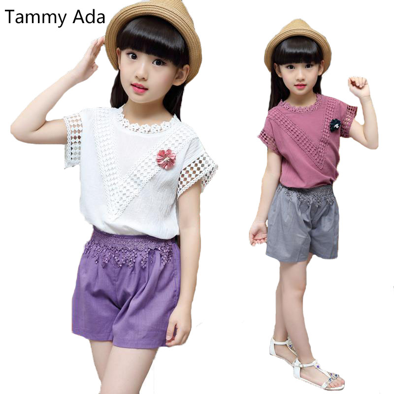 Tammy Ada 2018 Girls Clothing Sets For Baby Kids Clothes -5122