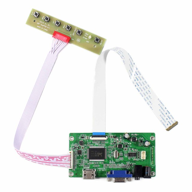 cd8134f107d HDMI VGA LCD Controller Board For 11.6