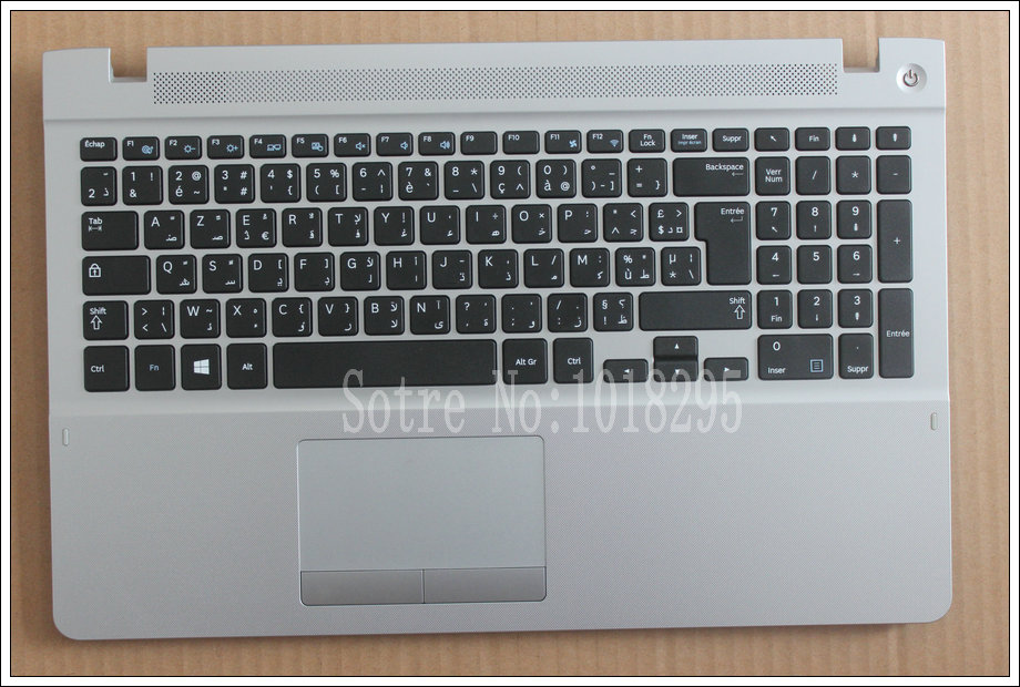 Arabic French Keyboard for Samsung 370R5E 450R5V NP370R5E NP370R5V S02 510R5E-S01 NP450R5E NP450R5V keyboard With a shell for samsung np530u3c np530u3b np535u3c 530u3b 530u3c np540u3 np532u3c np532u3a with c shell red canadian french keyboard