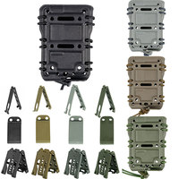 TACTIFANS Scorpion 5 56 Tactical Magazine Pouch Ambidextrous Modular Rifle Military Fast Mag Pouch Belt Molle