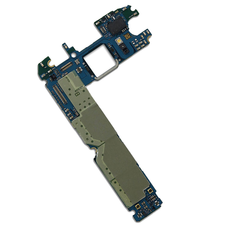 Für Original <font><b>Samsung</b></font> Galaxy <font><b>S6</b></font> G920F Motherboard 32 GB Voll Entsperrt Mainboard Mit Chips IMEI Android OS Logic <font><b>Board</b></font> EU Version image