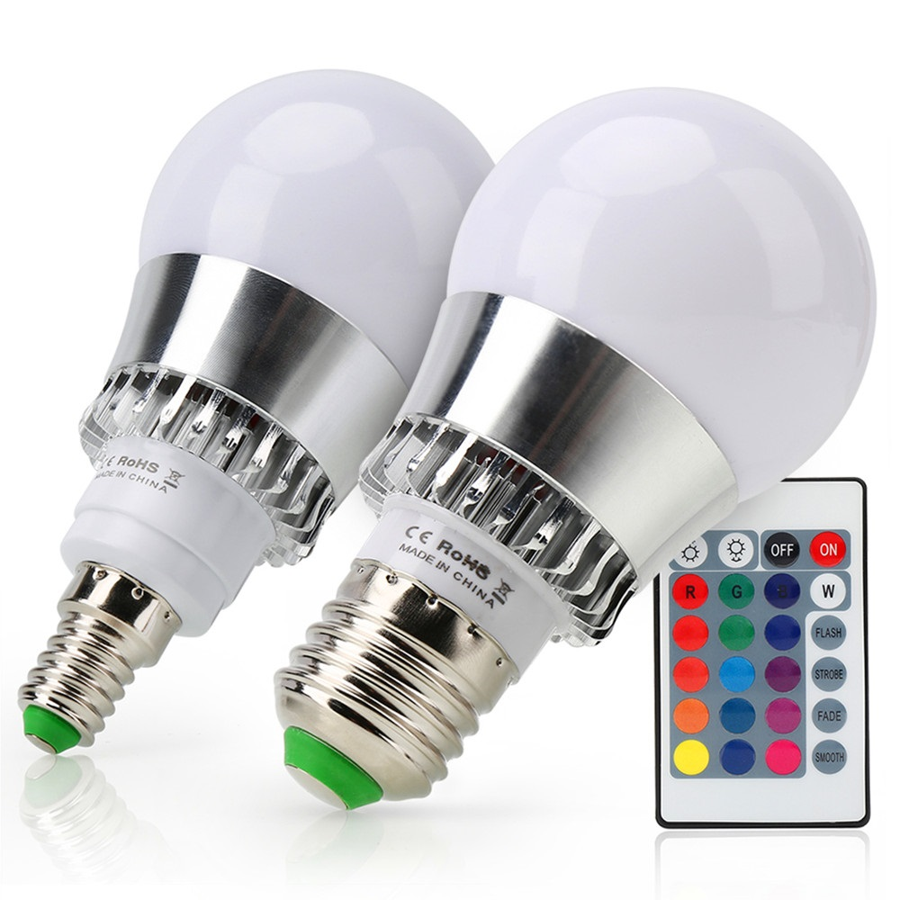 Led Bulbs Rgb Led Bulb E27 E14 16 Color Changing Light Candle Bulb Rgb Led Spotlight Lamp Ac85 265v Top 99 Cheap Products Led Lamp E14 Rgb In Cheap Bulbs
