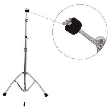 ใหม่กลอง Snare Dumb ผู้ถือ Cymbal สามเหลี่ยม-วงเล็บสนับสนุนขนาดสำหรับกลองชุด Percussion