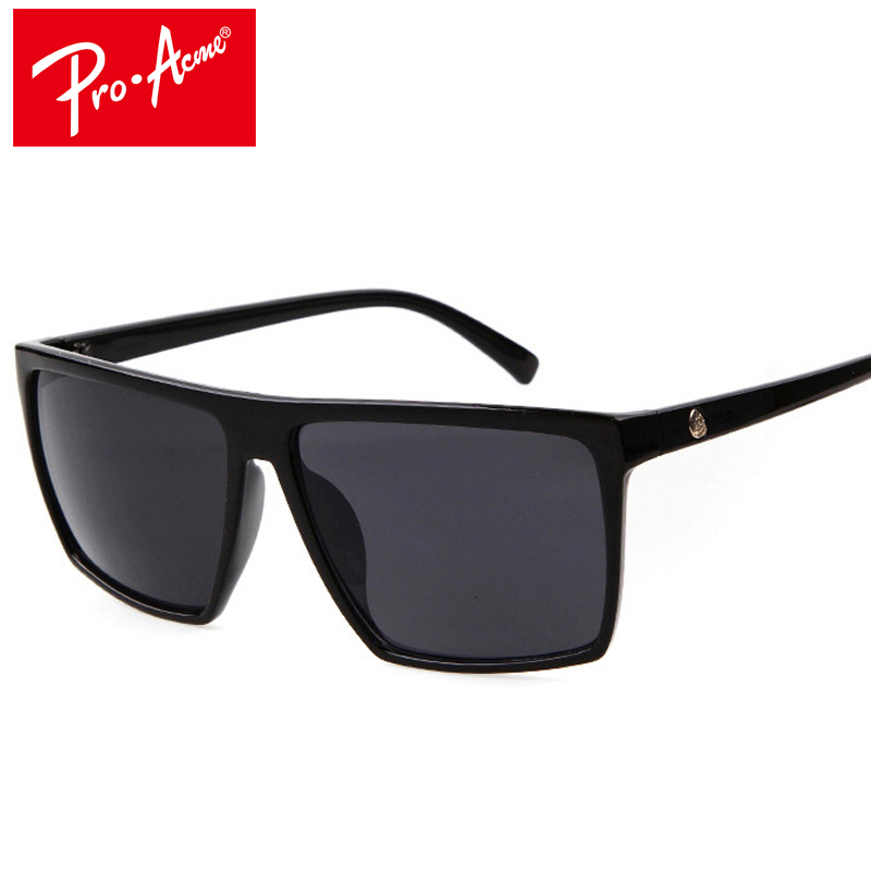 Pro Acme Square font b Sunglasses b font Men Brand Designer Mirror Photochromic Oversized font b