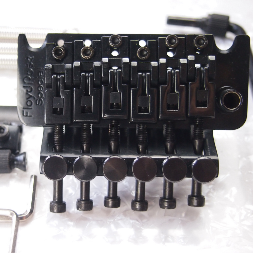 Genuine Original Floyd Rose Special Series Tremolo System Bridge FRTS2000 Black Without Original Packaging