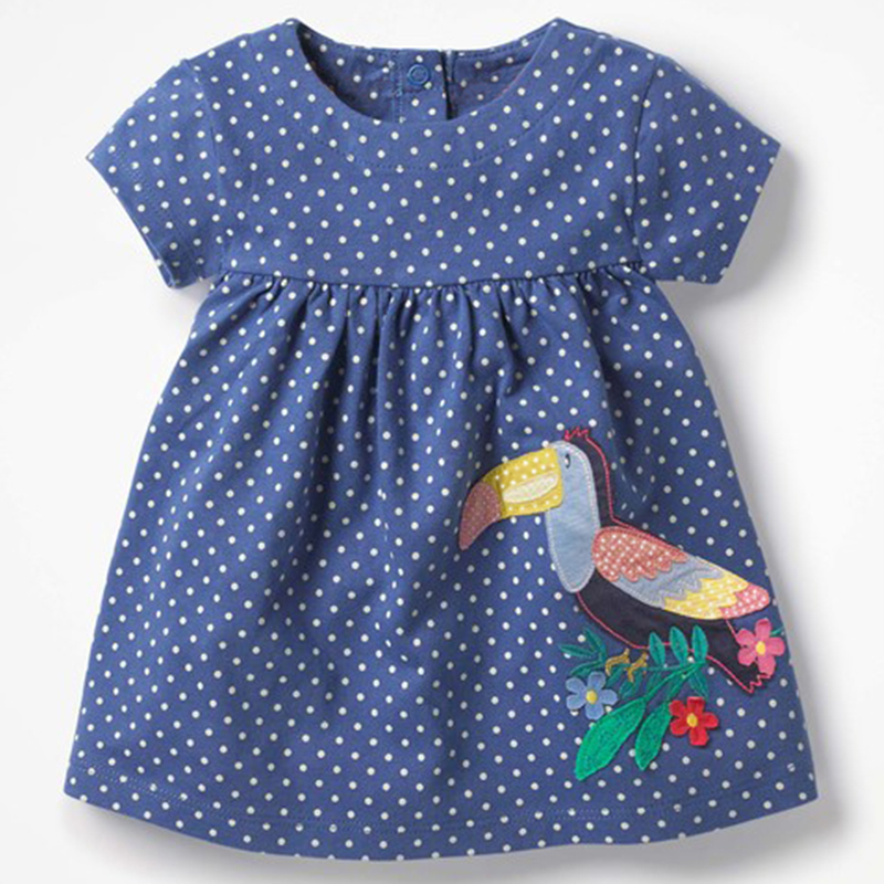Baby Girl Clothes Princess Dress For Holiday Birthday Summer 2018 Brand Infant Clothing Newborn Bebes Costume Girl Dresses 3M-4T