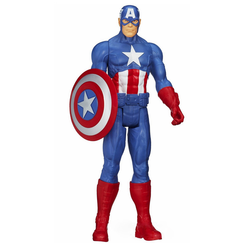 Captain America Action Figures PVC Toys Kids Toy Christmas Gift Collectable Super Hero Model 26cm crazy toys 16th super hero wolverine pvc action figure collectible model toy christmas gift halloween gift