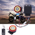 Motorcycle Alarm System Anti-theft Security Alarm System Remote Control Engine Start SV002173