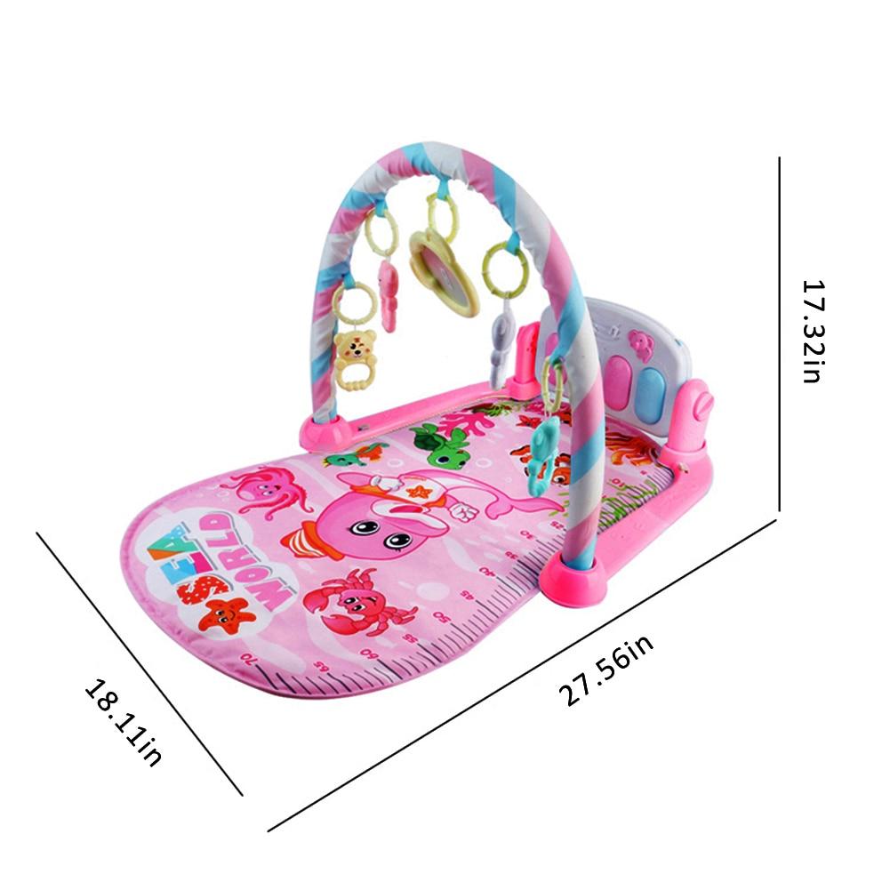 Bebê pedal piano instrumento de construção do