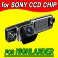 Автомобильная камера заднего вида для Toyota Highlander резервное копирование обратный парковка автомобиля камера NTSC Водонепроницаемый бесплатную доставку