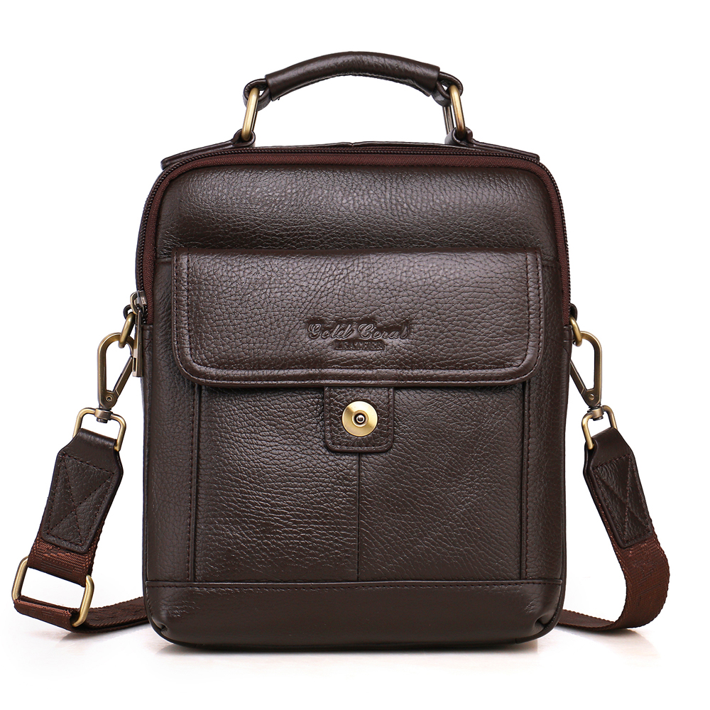 NEW Fashion 100% genuine leather men bag head layer cowhide small messenger bag Brand design casual bag business bag car swivel suction cup mount holder for samsung i9300 galaxy s3 black