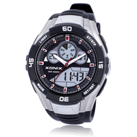 Hot!TOP Men Sports Watches Waterproof 100m Analog Digital Watch Running Swimming Diving Wristwatch Montre Homme Relojes Hombre