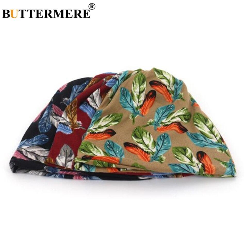 BUTTERMERE Turban Hat Female Male Autumn Women Men Skullies Beanies Soft Bonnet Stocking Hat Bonnet Cap Bone Stretch Neckerchief in Women 39 s Skullies amp Beanies from Apparel Accessories