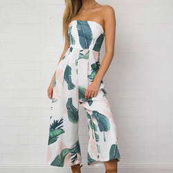 Cq938 elegant print boot cut tube tops calf length pants floral jumpsuit women summer 2017 wide.jpg 250x250