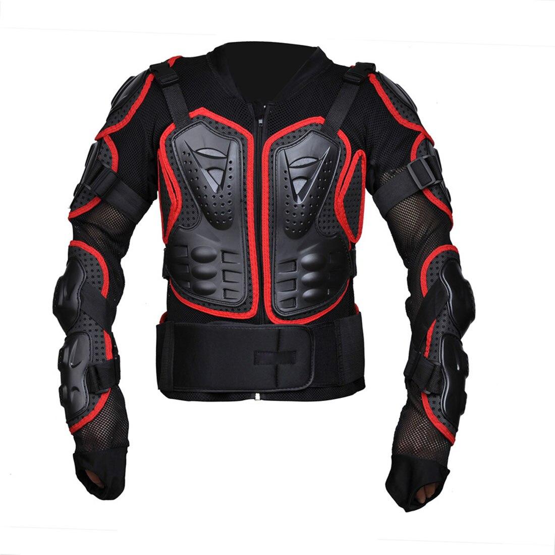 Dongzhen moto veste moto armure Protection Motocross vêtements veste croix dos/rouge armure protecteur course Automobile - 5