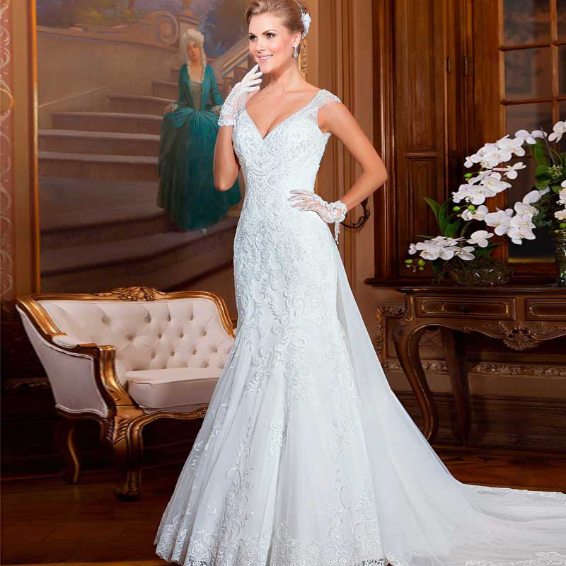 Best Wedding Gowns 2015: Berydress 2015 Best Quality Expensive Custom Made Lace