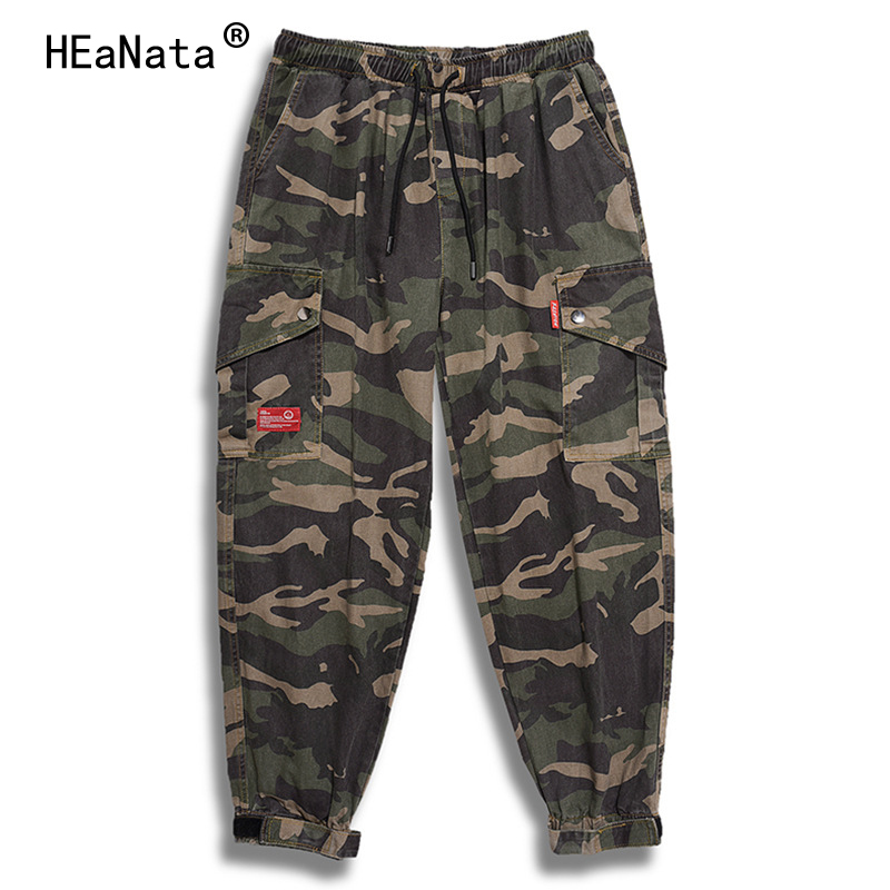 Brand New Military Camouflage Cargo Pants Winter Breathable Cotton Hip Hop Trousers Joggers Army Pockets Casual Harem Pants Male(China)