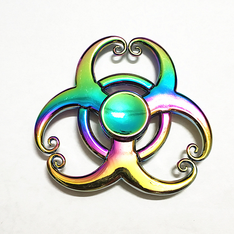 103 High Quality Fidget Spinner Metal Rainbow Dragon Hand Finger Spinners Autism ADHD Focus Anxiety Relief Stress