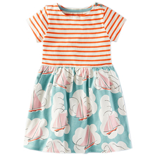 Girls Summer Cotton Dress