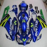 Injeceiton Mold ABS Plastic For Honda CBR1000RR 04 05 CBR 1000 2004 2005 Motorcycle Fairing Kit Blue Bodywork Cowling