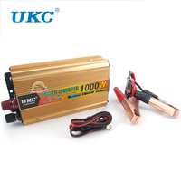 UKC LED Digitale Display 1000 W Auto Power Solar Aansteker Inverter Converter 12 V DC naar AC 220 V USB Charger Adapter Draagbare Voltage