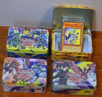 2 pcs/lot Yu-Gi-Oh Trading Card Classical Game Yugioh English Edition 41pcs Monster League ML Battle Deck iron box packing