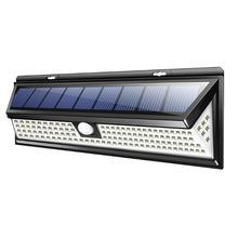 118 светодиодный 1000LM SMD солнечный светильник водонепроницаемый Наружное освещение садовое освещение во дворике PIR датчик движения аварийный светодиодный настенный светильник на солнечной батарее