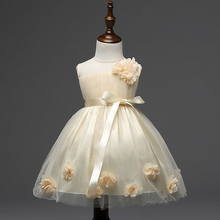 2016 новые дети платья для девочек ну вечеринку платья девочка одежда свадьбы элегантные принцесса вечерние платья