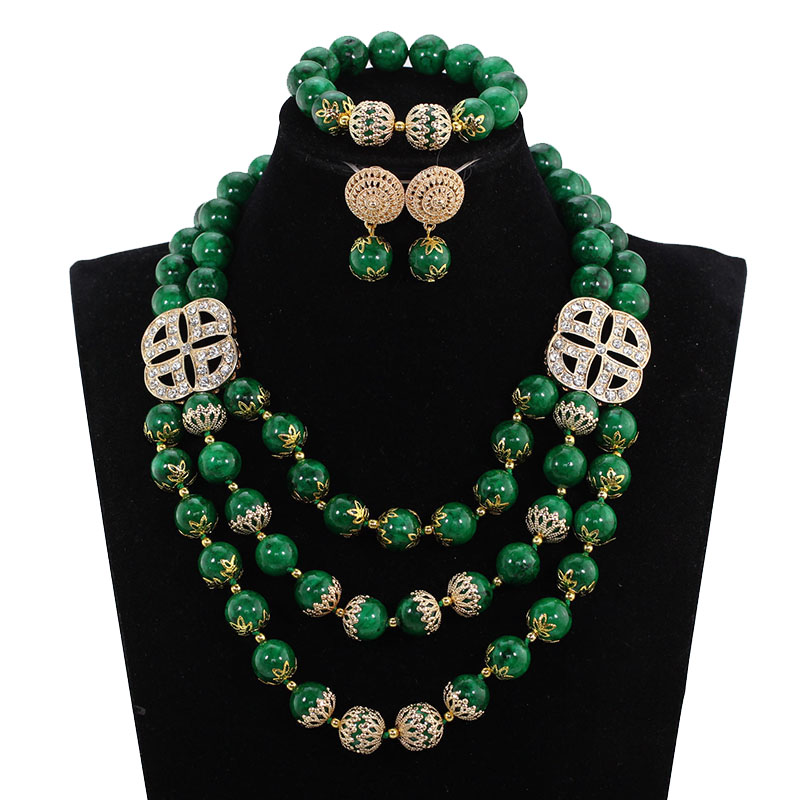 Fashion Green Nigerian Coral Beads Jewelry Set Indian Bridal Beads Necklace Set Free Shipping CL0345Fashion Green Nigerian Coral Beads Jewelry Set Indian Bridal Beads Necklace Set Free Shipping CL0345