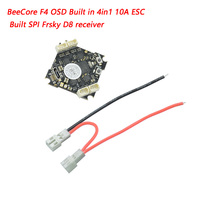 New BETAFPV F4 OSD Built in 4in1 10A ESC FC Brushless Flight Controller with SPI Frsky Receiver Betaflight