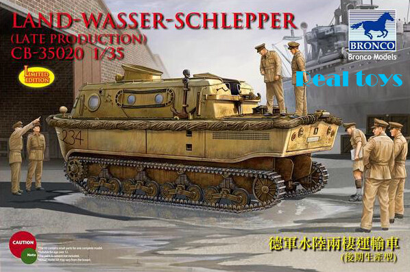 Bronco model CB35020 1/35 German Land-Wasser-Schlepper (LWS) (Limited edition) plastic model kit bronco model 1 35 scale military models cb35020 german land wasser schlepper lws limited edition plastic model kit