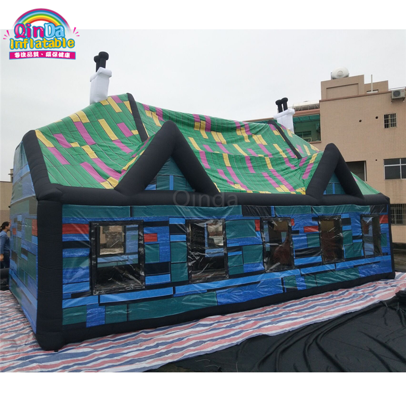 Commercial outdoor portable inflatable bar tent, inflatable pub for sale