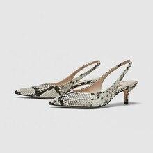 Dropshipping 2018 nueva primavera verano mujeres bombas zapatos de tacones  altos elegante OL tacón Sexy señaló dd789977725c