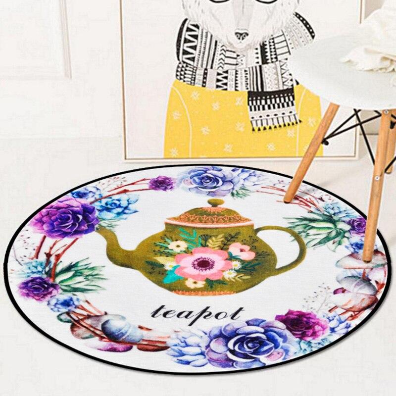 3D Flowers plants print Home Carpet Bedroom Foldable Storage decoration Carpet Prayer Camping Rugs Baby Kids Crawl Mat Carpets