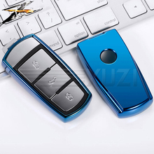 6 colors TPU Car Style Key Cover Case For Volkswagen VW CC Passat B6 B7L R36 Maogotan B5 B7 3C Auto