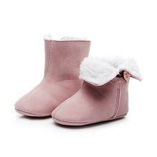 1a39d9af9 Botas de bebé recién nacido Unisex niños zapatos de invierno cuna Bebe bebé  niño Snowfield nieve botas botín   TXD