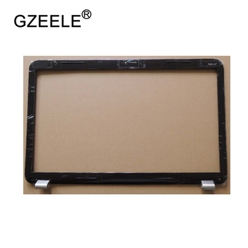 GZEELE مستعملة LCD مدي غطاء شاشة الإطار الأمامي ل جناح HP DV7 DV7-6000 LCD الإطار الأمامي 17.3 665592-001 أسود