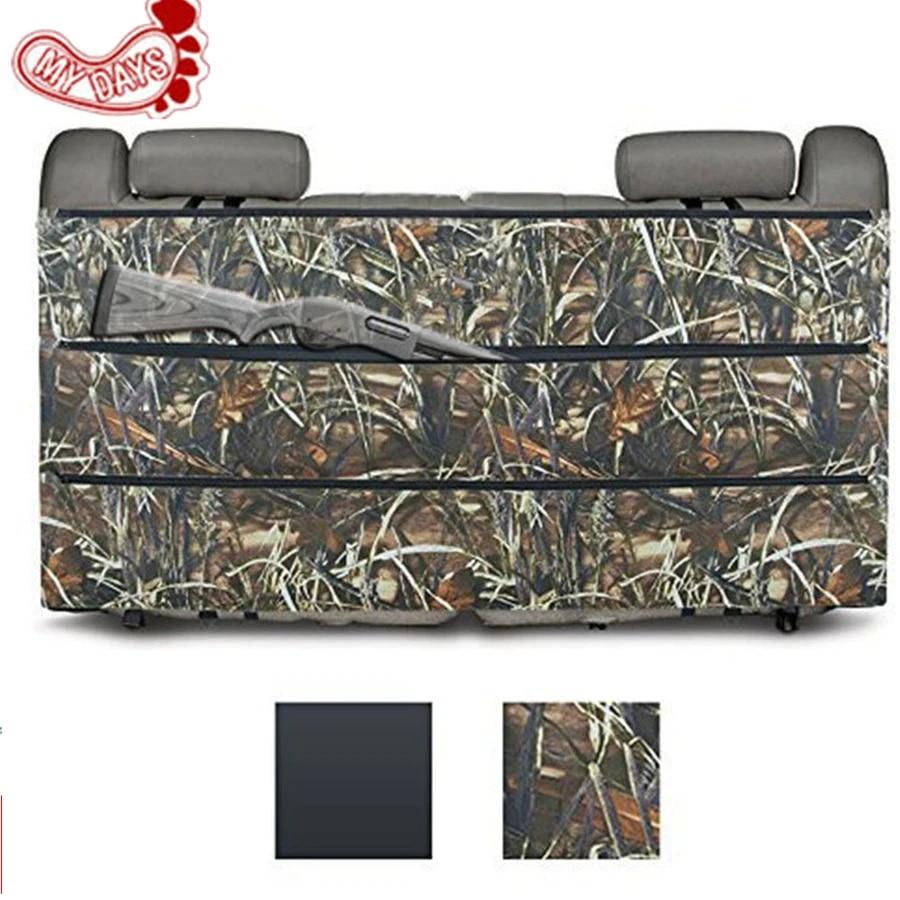my days black camo rifle gun rack case organizer for most suv trucks car back seat vehicle shotgun storage hunting sling bags
