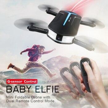 (Em estoque) Original JJRC H37Mini (H37 MINI) bebê ELFIE Altitude Hold Control RC Quadcopter Drone com Wifi Câmera FPV 720 p