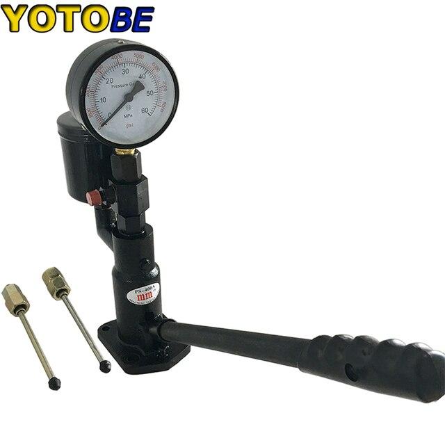 Profissional ferramentas ps400ai diesel motor injector de combustível bico testador