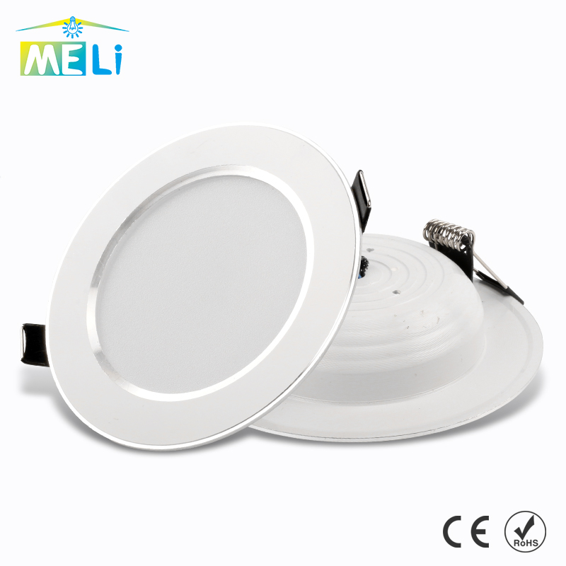 LED Downlight 3W 5W 7W 9W 12W 15W 220V 230V 240V Round Recessed Lamp Led Bulb Bedroom Kitchen Indoor LED Lighting(China)