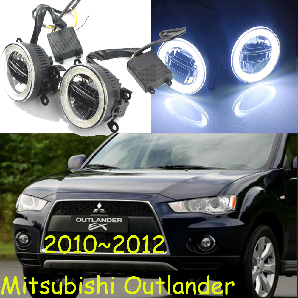 Mitsubish Outlander daytime light;2010~2012/2013~2016, Free ship!LED,Outlander fog light,Outlander аккумулятор для ибп cyberpower gp7 12 12v 7ah