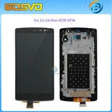 Reemplazo de la pantalla completa para lg g4 mini h735 h736 lcd pantalla + touch asamblea de cristal digitalizador + frame 1 unids envío gratis + herramientas