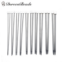 Stainless Steel Single Pointed Knitting Needles At Random 36 0cm 14 1 8 1 Set 22