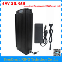 1000W Electric Bike Battery 48V 20 3AH 48V 20AH Lithium Ion Battery With Tail Light Use