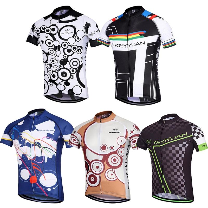 5cb1c7793a816b KEYIYUAN CYCLING Team Rowerowe Koszulki Topy Koszulki Kolarskie Ciclismo  Ropa Mujeres Chaqueta Ropa Ciclismo Jersey Bicicleta Camisa