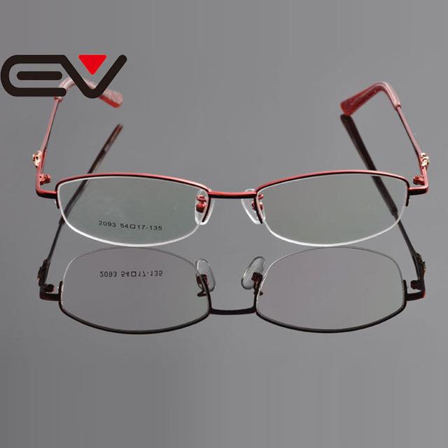 2015 Novo Design de Óculos de Lente Clara Nova Mulher Óculos de Metal Frame Ótico do Metal EV0924 Armacao de oculos de Grau Femininos
