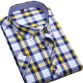Clearance Sale Men Shir Short Sleeve Plaid Shirt Casual Print Men's Clothing Camisa Masculina Brand Men Clothing